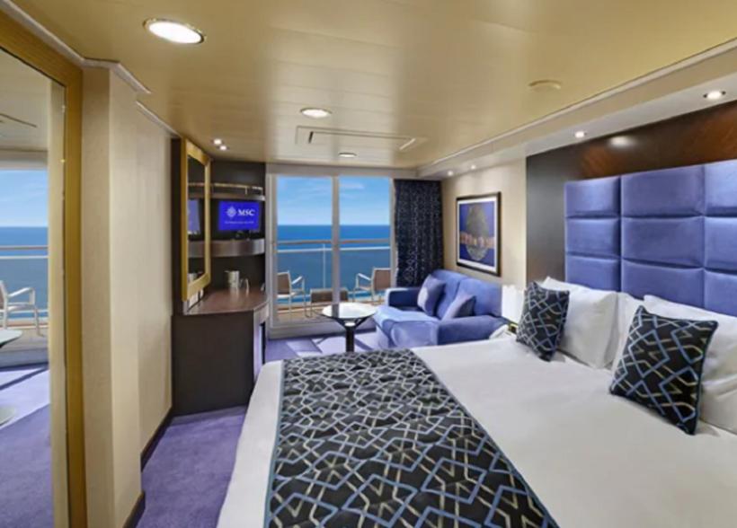 5 cabine preziosa balcon